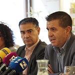 Santiago Cabañero durante el desayuno informativo de la candidatura del PSOE de Albacete a las Elecciones Generales del 10N. Foto: Manuel Lozano Garcia / La Cerca