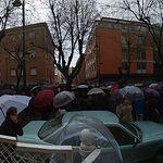 Manifestación en Guadalajara para exigir Pensiones Dignas.