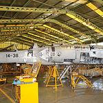 La primera gran revisión de los Mirage F-1, Gran Visita I, se hace a los 11 años y la Gran Visita II, aproximadamente a los 8 ó 9 años de la primera visita.