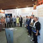 Inauguración del stand del III Encuentro Mundial de Capitales de la Cuchillería Albacete 2020. Foto: La Cerca - Manuel Lozano Garcia