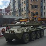Desfile de las Fuerzas Armadas en Logroño. Foto: Ministerio de Defensa.