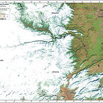 Nieve a vista de satélite. 15/12/2009. Imagen Landsat 5TM. Procesado de imagen y elaboración del mapa Instituto de Desarrollo Regional. Universidad de Castilla-La Mancha.