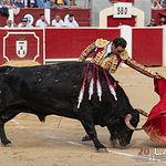 Feria taurina Albacete - Enrique Ponce - Su primero.