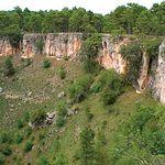 Imagen de una de las Torcas de Los Palancares, en la provincia de Cuenca.