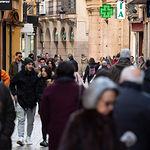 Calle Mayor de Albacete. Comercio