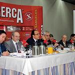 El consejero de Industria y Sociedad de la Información, José Manuel Díaz Salazar, durante su discurso en las jornadas.