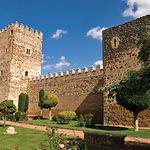 Castillo de Doña Berenguela, en Bolaños de Calatrava (Ciudad Real), construido con la invasión árabe del año 711.
