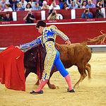 Rubén Pinar - Su segundo toro-3 - Feria Taurina Albacete - 14-09-16 - Para web