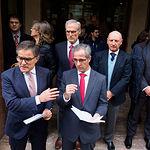 Jueces y fiscales realizan la segunda huelga en un año insistiendo en la independencia y mejoras profesionales