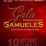 Cartel gala XII Premios Taurinos Samueles - Marc Descalzo - 19-10-18