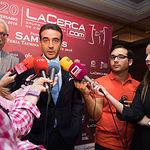 El torero Enrique Ponce en la gala de entrega de los XI Premios Taurinos Samueles correspondientes a la Feria de Taurina de Albacete 2016