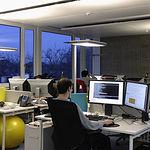 A junio de este año 2010 la creación de empresas en Castilla-La Mancha ha aumentado un 10,2 por ciento con respecto al mismo mes del año 2009. En la imagen, una empresa de diseño gráfico.