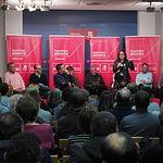 Adriana Lastra participa en la Asamblea Abierta del PSOE de Albacete sobre pensiones