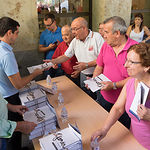 Entrega del programa de la Feria de Albacete 2015
