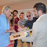 Arturo Fernandez con Vinos Iniesta
