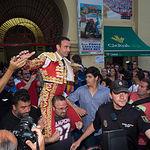 Puerta grande para Enrique Ponce y Roca Rey en la Corrida Benéfica de Asprona del 11 de Junio de 2017