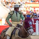 Segundo toro  de Enrique Ponde en la Corrida Benéfica de Asprona del 11 de junio de 2017