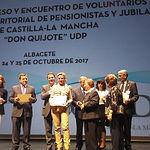 Acto de clausura del VIII Congreso y Encuentro de Voluntarios de UDP Castilla- La Mancha 'Don Quijote'