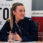 Elena Serrano, estudiante de Derecho y vicepresidenta de ACTÚA