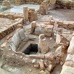 Los hallazgos en el Tolmo han puesto al descubierto este horno datado durante la época islámica.