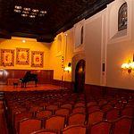 El actual salón de actos del Centro Cultural de La Asunción fue capilla del antiguo convento de La Encarnación.
