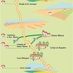Un rico patrimonio histórico, unido a la rica fauna de sus humedales, confieren a esta ruta un encanto especial