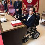 Federico Pozuelo jura su acta como concejal en el Ayuntamiento de Albacete.