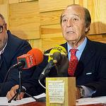 Samuel Flores, presidente de Honor de los Premios Taurinos Samueles.