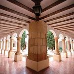 El primer asentamiento del Convento de San José o de los Padres Carmelitas en Caudete se remonta a 1579.