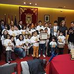 Acto institucional organizado con motivo del Día de la Ciudad
