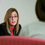 Lola Serrano, delegada provincial de Igualdad de la JCCM. Foto: Manuel Lozano Garcia / La Cerca