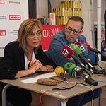 Desayuno informativo de CCOO en la Feria de Albacete. Foto: La Cerca - Manuel Lozano Garcia