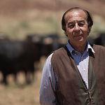 """Samuel Flores en la Finca """"El Palomar"""". Foto de Archivo."""