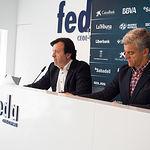 Presentación de los galardonados en los XVII Premios Empresariales San Juan de FEDA.