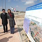 Cospedal asiste a la puesta en marcha de las obras del desdoblamiento de la CM 3203 en Albacete. Foto: JCCM.