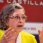 Caridad Aguilar, jubilada de Enfermería