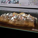 Antiguo cinto de navajas de Albacete que utilizaban los vendedores para ofertar sus productos.