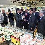 Firma del protocolo de colaboración entre la Junta y Carrefour para la promoción de productos ecológicos certificados.