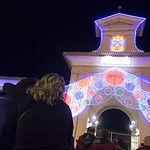 """Cierre de la """"Puerta de Hierros"""" en la Feria de Albacete."""