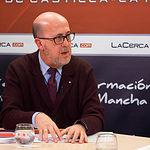 Francisco Pérez del Campo, presidente local de Cruz Roja en Albacete
