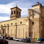 Iglesia Arciprestal de Santa María del Salvador en la parte que da a la Plaza de La Mancha de Chinchilla de Montearagón.
