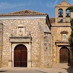 Del convento de las Franciscanas, de estilo renacentista, solo se conserva la antigua portada de la iglesia.