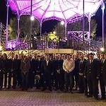 Espectáculo piromusical de cierre de la Feria de Albacete