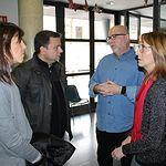Manuel Serrano visita el Centro de Atención Integral a Personas sin Hogar