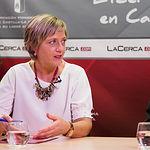 Ascensión Navarro, vicepresidenta de la Asociación de Vecinos del Barrio Universidad. Foto: Manuel Lozano Garcia / La Cerca
