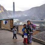 Debido a los gases emitidos por las fábricas, La Oroya, en Perú, es una de las ciudades de mayor contaminación del mundo.