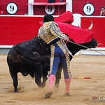 Juan  del Álamo - Segundo toro - Corrida 16-09-17