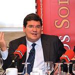"""El economista José Luis Escrivá Belmonte pronunció la conferencia titulada """"Tiempos de Incertidumbre Económica""""."""