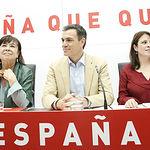 Reunión de la Ejecutiva Nacional del PSOE.