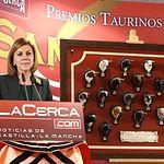 IX Premios Taurinos Samueles. En la imagen, la presidenta de Castilla-La Mancha, María Dolores Cospedal.